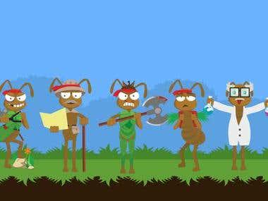 Illustration for computer game