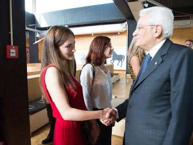Meeting with President Mattarella