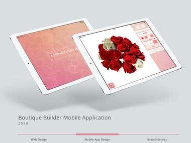 Bouquet Builder Mobile Application