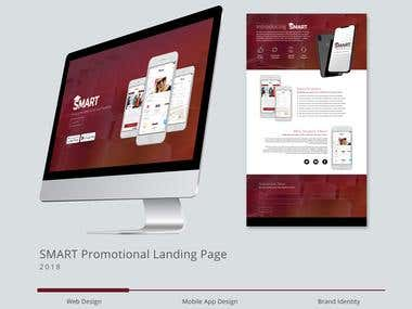 SMART Promotional Landing Page Design