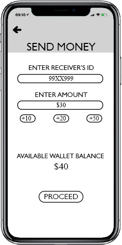 Money Send/Receive FinTech Application
