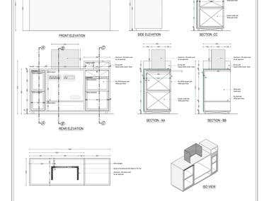 Fit_Out / Millwork drawings