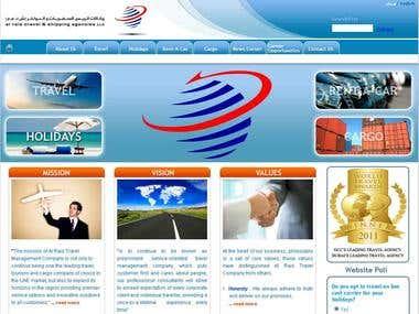 Web Design for Travel Agency