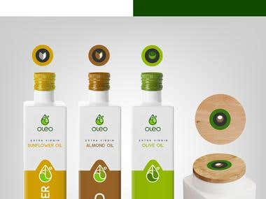 OIL logo & packaging