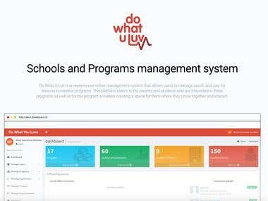 Program Management System