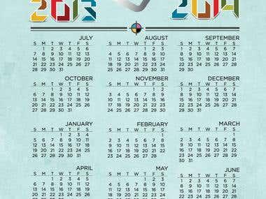 2013 Academic Calendar IGAEA   Cross-Media   UW-Stout