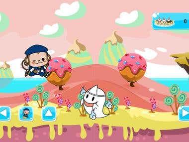 Sarutobi Ninja Monkey Game