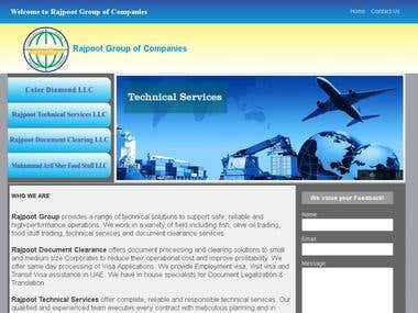Web Design for Group of Companies