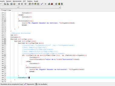 Codigo de juego Ataxx c++