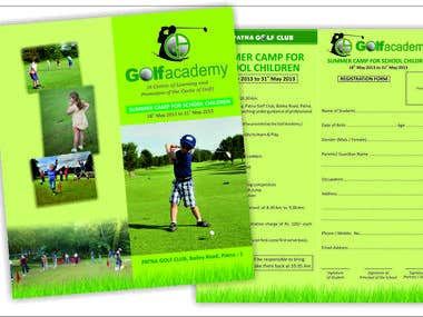 Golf Academy Brochure