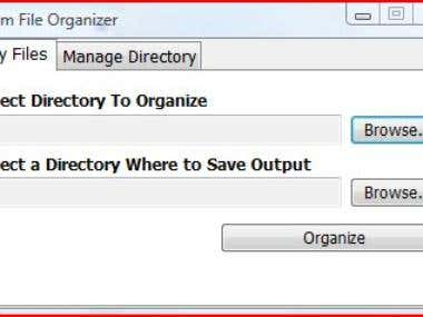 File Organizer in VB.NET