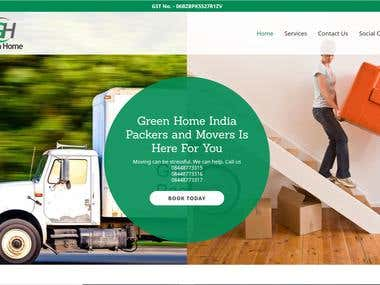 greenhome Packer and Movers @ https://greenhomeindia.com/