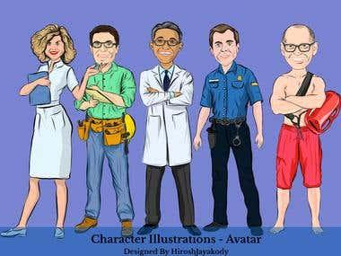 Illustration - Cartoon - Caricature