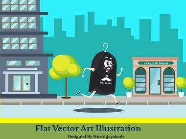 Flat Vector illustration - Banners - Cartoon