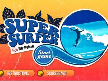 Super Surfer Flash Game