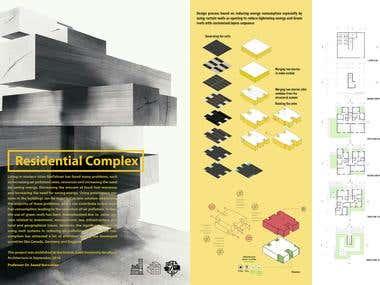 Architectural Portfolio Design