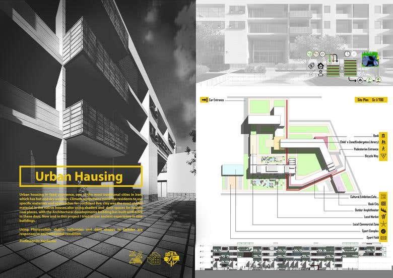 Architectural Portfolio Design | Freelancer