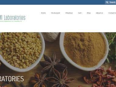 PMI Laboratories ( WordPress Website )