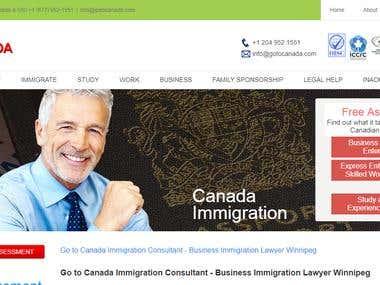 go to Canada ( WordPress updates )