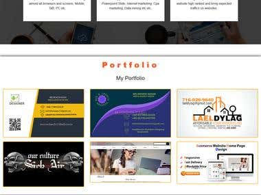 This is My Personal Website..