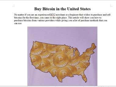 Article: Buy Bitcoin in the United States