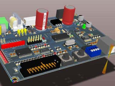 CNC Industrial Interface board