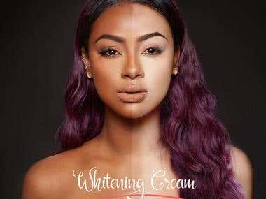 Recent Work - Whitening Cream
