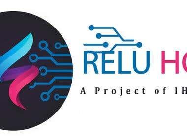 Reluhost Logo Design