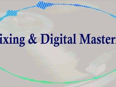 Mixing & Mastering Audio