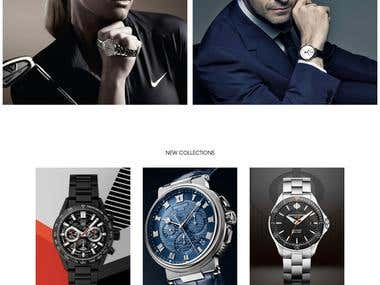 Luxury Watch - Wordpress Site