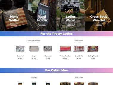e-Commerce Wordpress Site