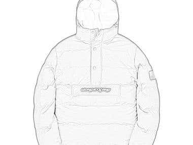 Pullover Down Jacket Image