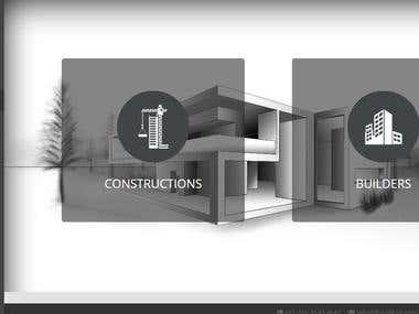 the raikon builders/ construction business website