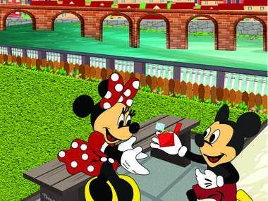 Mickey illustration