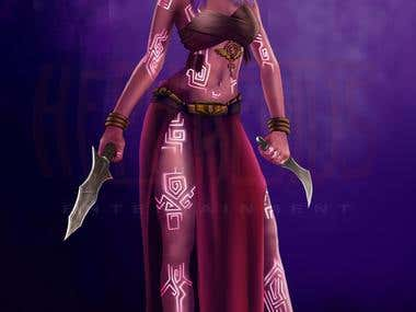 Thenwadin Female Character