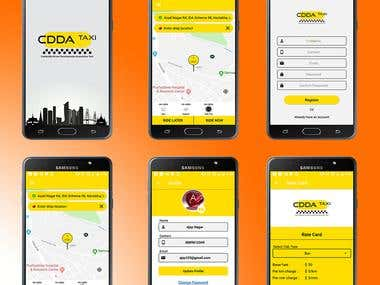 Taxi Booking User App