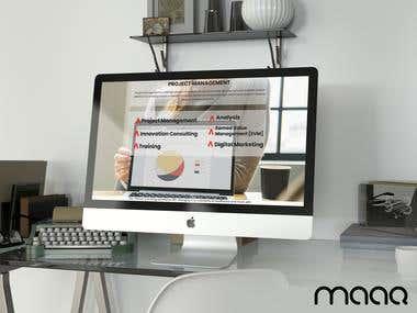 Gliterz Website Designing and Development