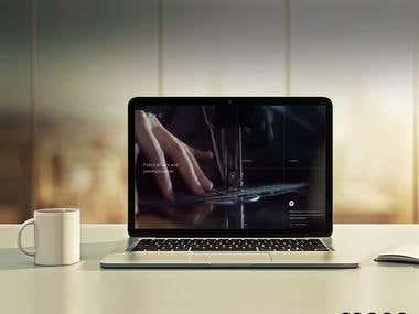 NovA website Designing
