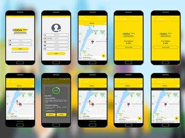 Taxi Booking Driver App
