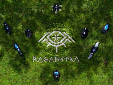 Raganstra Jewelery (Logo & Cover Art)