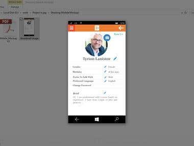 Shezlong (Mobile App Mockup)
