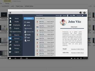 Softdesks (Desktop App Mock-up)