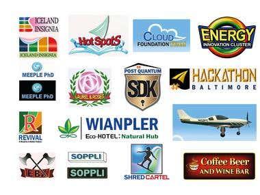Logo and Graphic Designer 1