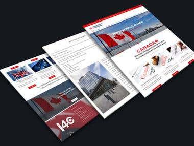 website design for home inspections