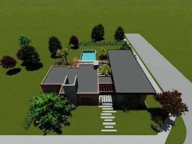 House Design, renders and video creation