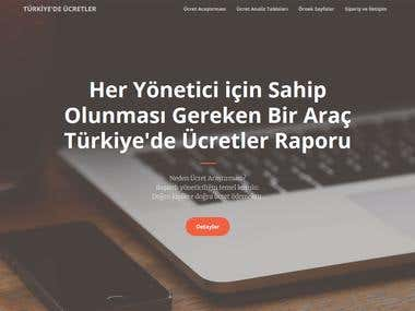 Wages and Salary Report Turkey