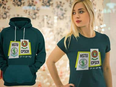 T-Shirt and Hoodie