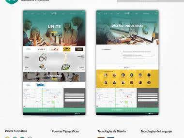 Sitio web: Asoc. de Profesionales de Diseño de Interiores