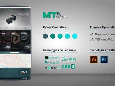 Sitio web: MT Group