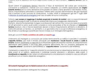 SEO Ghostwriting in Italian